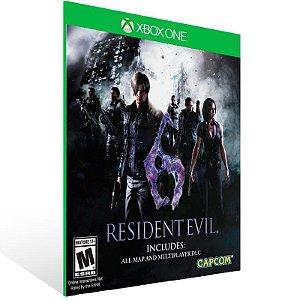 Resident Evil 6 - Xbox One Live Mídia Digital