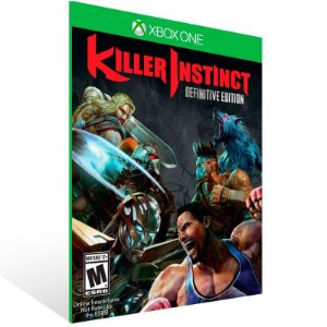 Killer Instinct Definitive Edition - Xbox One Live Mídia Digital