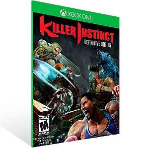 Killer Instinct: Definitive Edition - Xbox One Live Mídia Digital