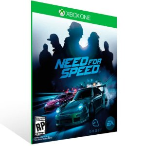 Need for Speed - Xbox One Live Mídia Digital