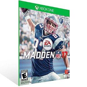 Madden NFL 17 - Xbox One Live Mídia Digital