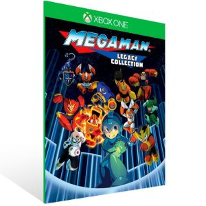 Mega Man Legacy Collection - Xbox One Live Mídia Digital