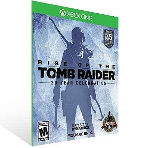 Rise of The Tomb Raider: Aniversário de 20 anos - Xbox One Live Mídia Digital