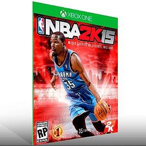 NBA 2K15 - Xbox One Live Mídia Digital