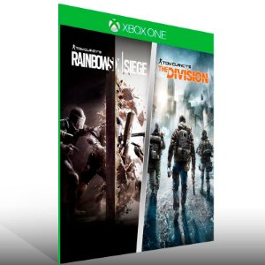 Tom Clancy: Rainbow Six Siege + The Division - Xbox One Live Mídia Digital