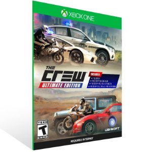 The Crew: Ultimate Edition - Xbox One Live Mídia Digital