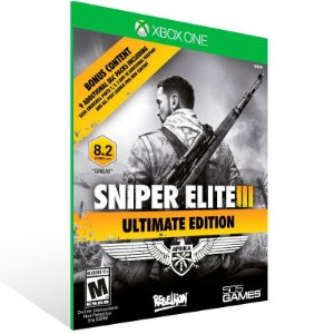 Sniper Elite 3: Ultimate Edition - Xbox One Live Mídia Digital