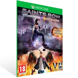 Saints Row IV: Re Elected & Gat Out of Hell - Xbox One Live Mídia Digital