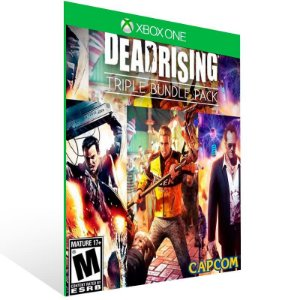 Dead Rising Pacote Triplo - Xbox One Live Mídia Digital