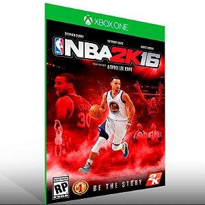 NBA 2K16 - Xbox One Live Mídia Digital