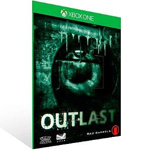 Outlast - Xbox One Live Mídia Digital