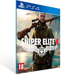 Sniper Elite 4 - Ps4 Psn Mídia Digital