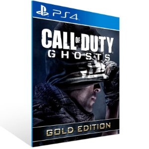 Call Of Duty Ghosts Gold Edition - Ps4 Psn Mídia Digital