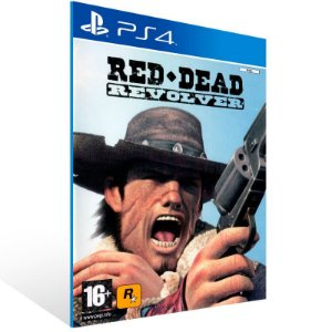 Red Dead Revolver - Ps4 Psn Mídia Digital