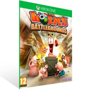 Worms Battlegrounds - Xbox One Live Mídia Digital