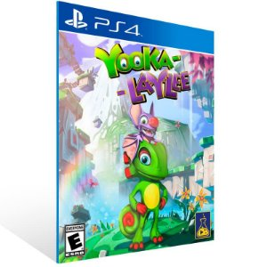 Yooka Laylee - Ps4 Psn Mídia Digital