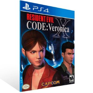Resident Evil Code: Veronica X - Ps4 Psn Mídia Digital