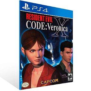 Resident Evil Code: Veronica X - Ps4 Psn Mídia Digital