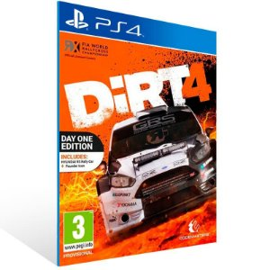 DiRT 4 - PS4 Psn Mídia Digital