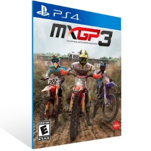 MXGP 3 The Official Motocross Videogame - Ps4 Psn Mídia Digital