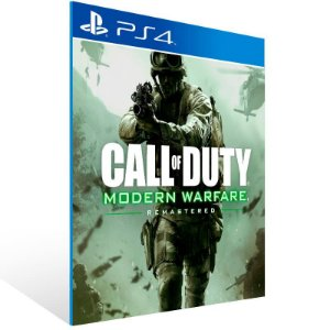 Call of Duty: Modern Warfare Remastered - Ps4 Psn Mídia Digital