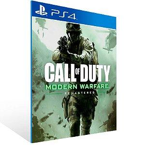 Call of Duty: Modern Warfare Remastered - Ps4 Psn Mídia Digital