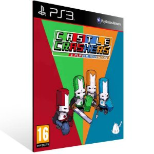 Castle Crashers - Ps3 Psn Mídia Digital
