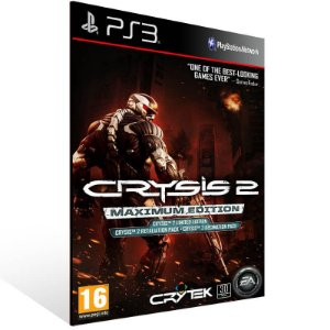 Crysis 2 Maximum Edition - Ps3 Psn Mídia Digital