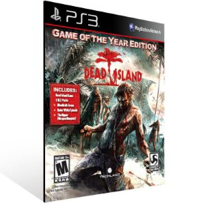 Dead Island Game of the Year Edition - Ps3 Psn Mídia Digital