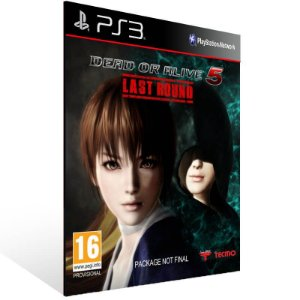 Dead Or Alive 5 Last Round - Ps3 Psn Mídia Digital
