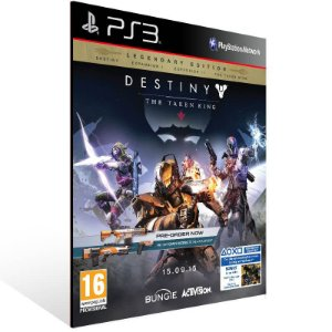 Destiny The Taken King Legendary Edition - Ps3 Psn Mídia Digital