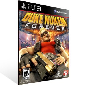 Duke Nukem Forever - Ps3 Psn Mídia Digital