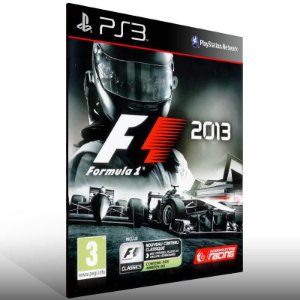 F1 2013 - Ps3 Psn Mídia Digital