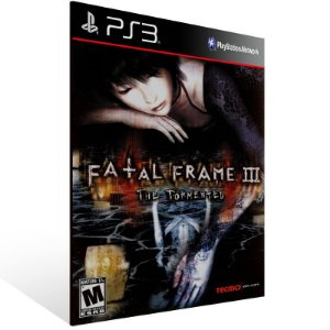 Fatal Frame 3 The Tormented - Ps3 Psn Mídia Digital