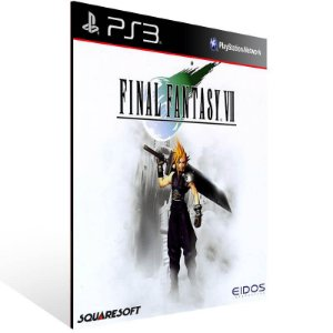 Final Fantasy 7 - Ps3 Psn Mídia Digital