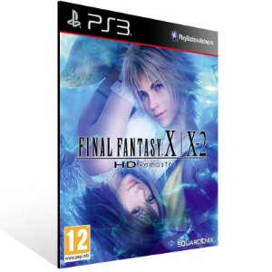 Final Fantasy X/X 2 Hd Remaster - Ps3 Psn Mídia Digital