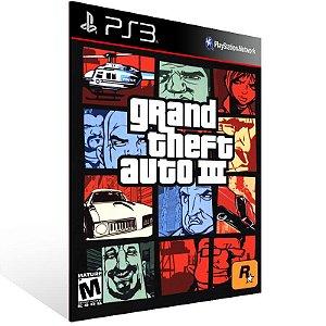Grand Theft Auto 3 - Ps3 Psn Mídia Digital