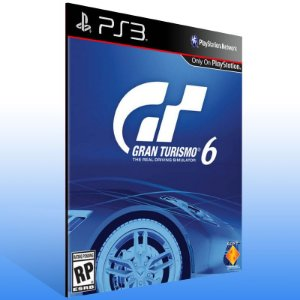 Gran Turismo 6 - Ps3 Psn Mídia Digital