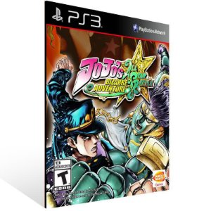 JoJo's Bizarre Adventure: All Star Battle - Ps3 Psn Mídia Digital
