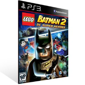 Lego Batman 2 Dc Super Heroes - Ps3 Psn Mídia Digital