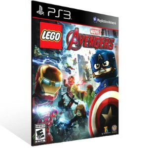 Lego Marvels Avengers - Ps3 Psn Mídia Digital