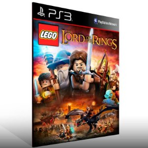 Lego The Lord Of The Rings - Ps3 Psn Mídia Digital