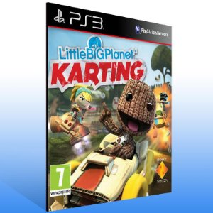 Littlebigplanet Karting - Ps3 Psn Mídia Digital