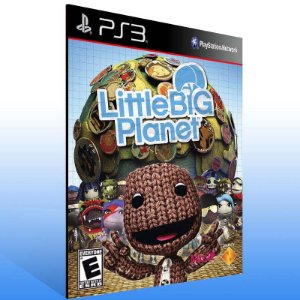 Littlebigplanet - Ps3 Psn Mídia Digital