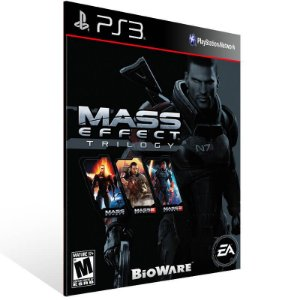 Mass Effect Trilogy - Ps3 Psn Mídia Digital