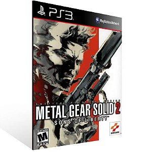 Metal Gear Solid 2 Sons of Liberty HD Edition - Ps3 Psn Mídia Digital