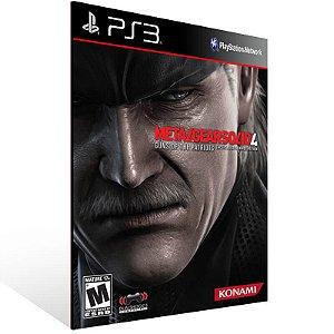 Metal Gear Solid 4: Guns of the Patriots - Ps3 Psn Mídia Digital