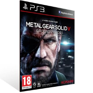 Metal Gear Solid 5 Ground Zeroes - Ps3 Psn Mídia Digital