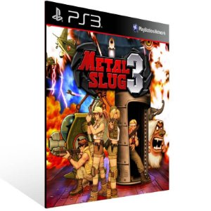 Metal Slug 3 - Ps3 Psn Mídia Digital