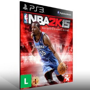 NBA 2K15 - Ps3 Psn Mídia Digital